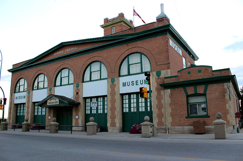 The fire hall in Prince Albert, Sask., has remained viable as a community museum since the late 1970s.