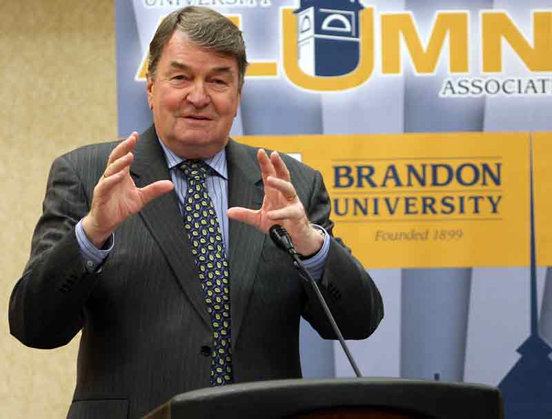 Brandon University announced Friday it has renamed the original campus gymnasium in honour of former chancellor Henry Champ, who passed away earlier this year.