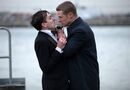In this image released by Fox, Robin Lord Taylor, left, and Ben McKenzie, are shown in a scene from