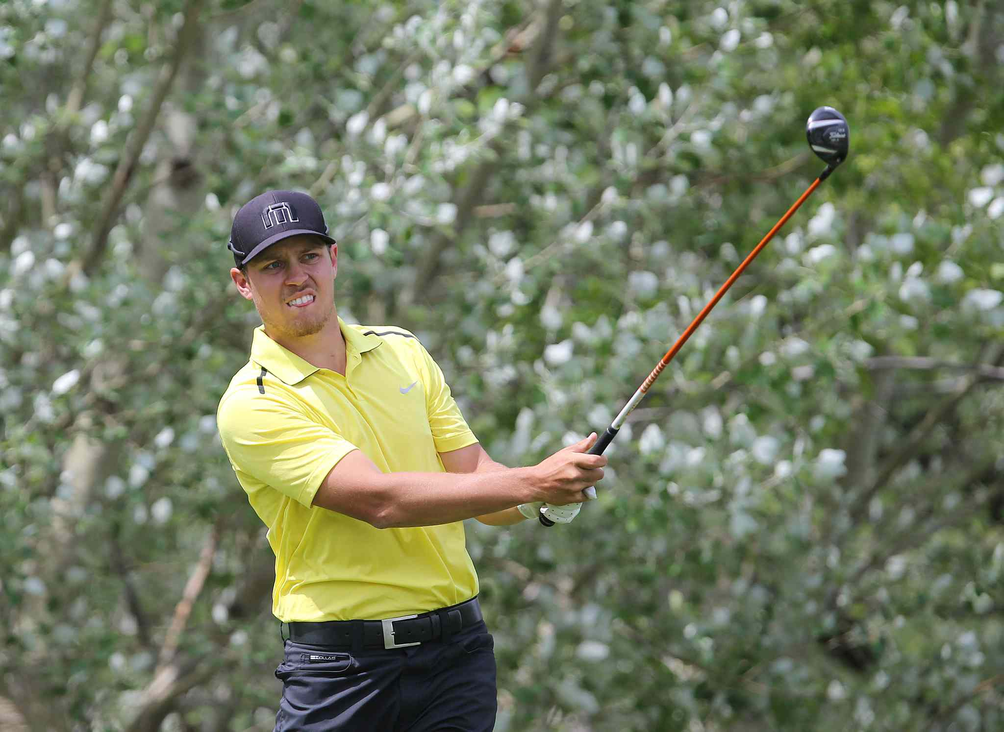 Manitoba's Josh Wytinck fired a 1-under 71 Wednesday. His 1-over total after two rounds is good for 10th place overall.