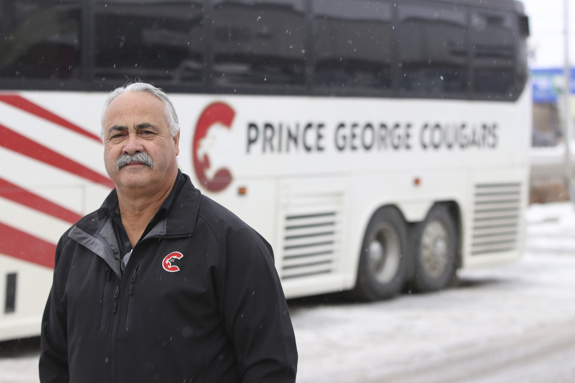 Ralph Posteraro, who drives the bus for the Prince George Cougars, played a little known but important role for the Brandon Wheat Kings in the Western Hockey League final during the 2015-16 season.