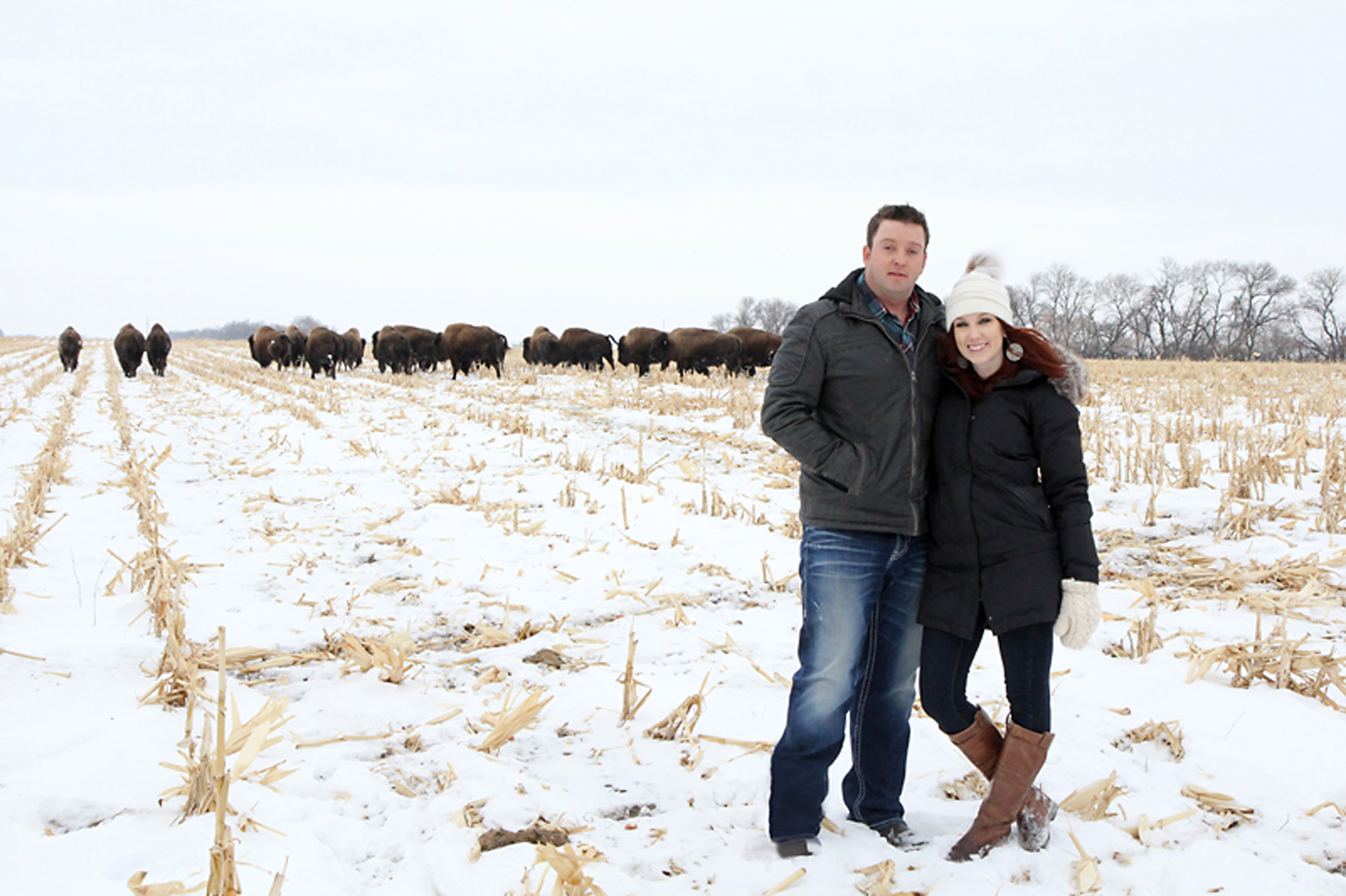Brooks and Jen White of Borderland Agriculture, based in Pierson and Lyleton, were named Manitoba's Outstanding Young Farmers for 2018.