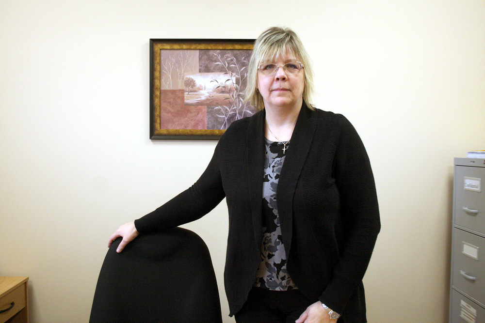 Local addictions treatment advocate Kim Longstreet is scheduled to speak to the House of Commons Standing Committee on Health on Tuesday as part of its ongoing study of the impacts of methamphetamine abuse in Canada. (Michael Lee/The Brandon Sun)