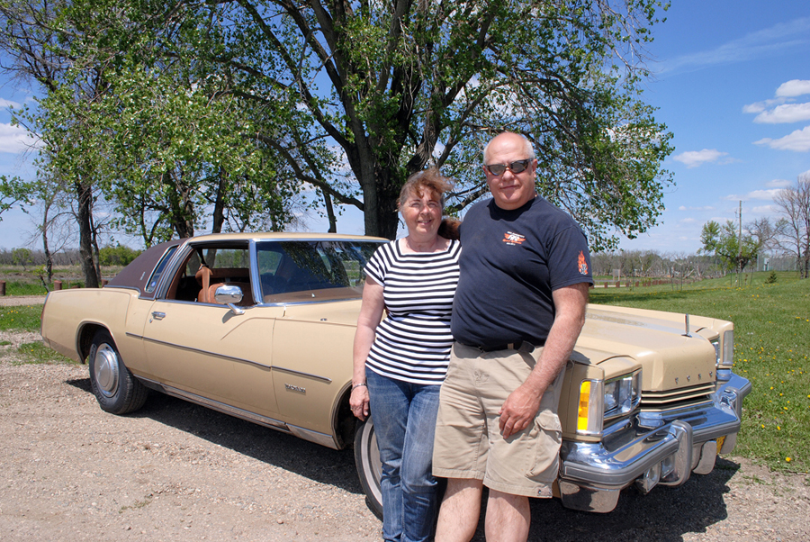 Joyce and Dave Burba (Super Run 2019 organizer) with their 1975 Oldsmobile Toronado, which they will be bringing to the automotive event alongside a 1976 Cutlass. (File)