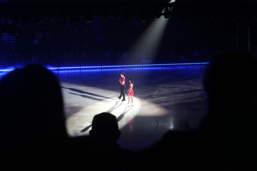 "Tessa Virtue and Scott Moir's current ""Rock the Rink"" shows will serve as their farewell tour, since the pair announced in September that they are stepping away from the sport of figure skating."