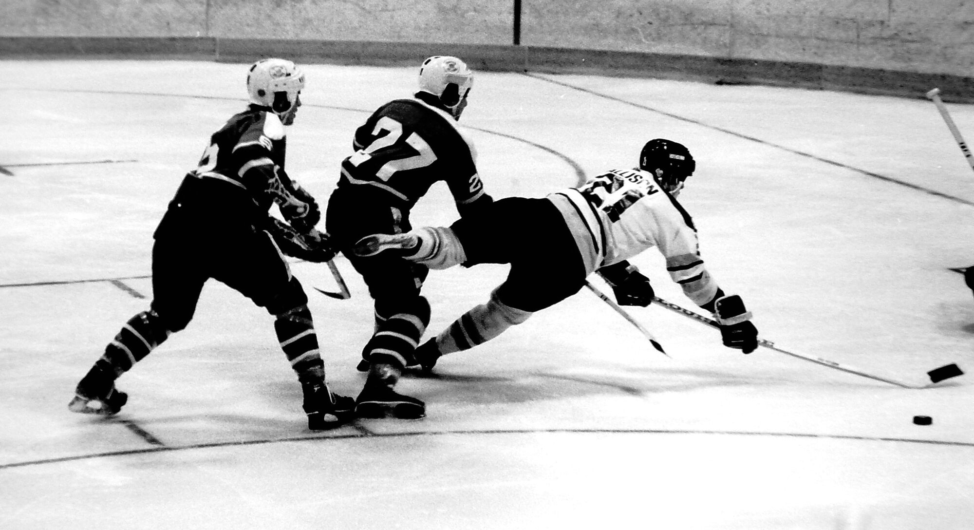 Ray Allison is the only player in WHL history to finish second in league scoring three years in a row.