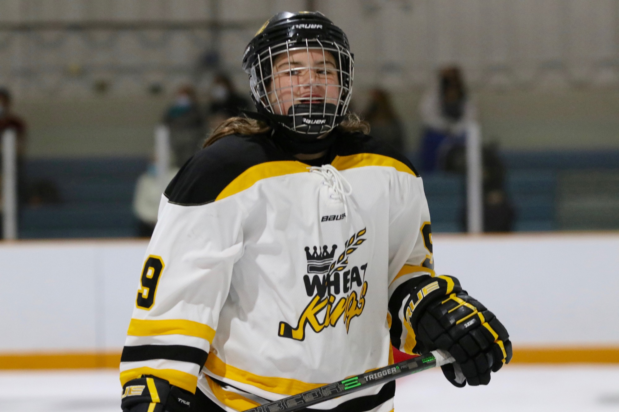 Under-15 AAA girls Brandon Wheat Kings forward Sydney Sass led the team with eight points in a pair of exhibition games on the weekend.