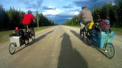 The film followed Steve Langston on a 30-day bike tour through the Yukon and North West Territories.