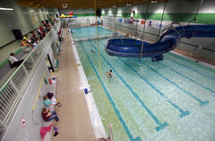 Renovations at the Sportsplex pool have proven politically divisive.
