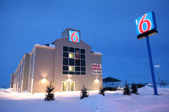 The Motel 6, just off the Trans-Canada highway, opened about two years ago.