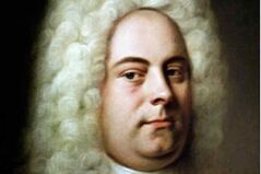 George Frideric Handel, composer.