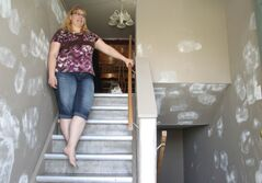 Homeowner Natalie Burtnick says repairs that Habitat for Humanity Manitoba promised to make have not been completed.