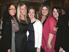 Kristi Cantelo, Jenna McBryan, Stacy Jamieson, Laura Hockin and Kandace Kneeshaw.