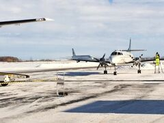Flights are being diverted to Brandon after poor weather closed the Winnipeg airport on Wednesday.