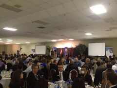 It was a full house at the Brandon Chamber of Commerce luncheon Thursday, as hundreds turned out to hear Manitoba Premier Greg Selinger give his State of the Province address.