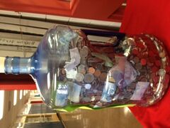Elkhorn School raised $1,600 in a coin drive designed to