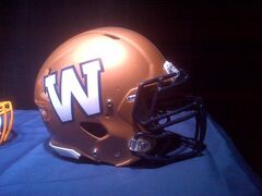 The Bombers unveiled a new logo and helmet design this morning. New team uniforms -- a league-wide initiative for this season -- are scheduled to be revealed next week.