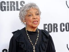 FILE - This Oct. 25, 2010 file photo shows actress Ruby Dee attends a special screening of
