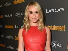 "FILE - This Sept. 20, 2013 file photo released by Entertainment Weekly shows Becca Tobin at the 2013 Entertainment Weekly Pre-Emmy Party in Los Angeles. Matt Bendik, the boyfriend of ""Glee"" star Becca Tobin, has been found dead in a Philadelphia hotel room. Police say they were called to the Hotel Monaco just after 1 p.m. Thursday, July 10, 2014, and that a man was pronounced dead minutes later. The city medical examiner's office confirmed Bendik's identity and will determine the cause and manner of death. There were no signs of foul play. (AP Photo/Entertainment Weekly, Todd Williamson, FIle)"