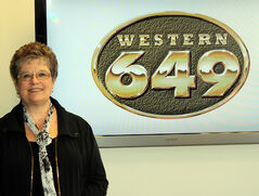Betty Kasprick of Rivers recently won $25,000 by picking five of six numbers plus the bonus on a Western 649 draw.