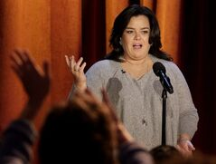 "FILE - In this Thursday, Oct. 6, 2011, file photo, Rosie O'Donnell talks to the audience during a taping of her show in Chicago. ""The View"