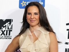 FILE - In this July 31, 2012, file photo, Mexico's actress Kate del Castillo poses for photos during a photo call to promote the documentary