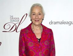 "FILE - This May 18, 2012 file photo shows actress Rosemary Harris at the 78th Annual Drama League Awards in New York. Harris has been lured back onto a New York stage for the upcoming revival of Tom Stoppard's ""Indian Ink."" The Roundabout Theatre Company said Tuesday, Feb. 25, 2014, that Harris will star in the romantic tale, with performances to begin Sept. 4 at the Harold and Miriam Steinberg Center for Theatre. (AP Photo/Charles Sykes, File)"