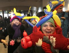 Jubilant shoppers get their first Winnipeg IKEA shopping experience.