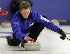 After finishing pool play at the Canadian junior men's curling championship in first place with a 9-1 record, Carberry's Braden Calvert can relax today and tomorrow before his Winnipeg team plays for a national title on Sunday in Liverpool, N.S.