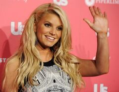 FILE - In this April 26, 2011 file photo, Jessica Simpson, recipient of the