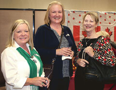 Laurie Jackson, Lisa Birch and Marg MacDonald.