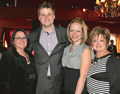 Merla Kreuger, Ben Myers, Melissa Myers and Carol Johnston.
