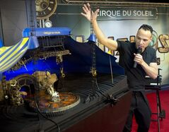 Director Michel Laprise unveils the Cirque du Soleil's latest show