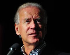 Vice President Joe Biden speaks to supporters on Tuesday, Oct. 2, 2012 in Charlotte, N.C. at The Fillmore. Biden returned to Charlotte for his sixth visit to North Carolina this year. The visit comes a month before Election Day and a day after a new poll showed the presidential race deadlocked in North Carolina. (AP Photo/The Charlotte Observer, Jeff Siner)