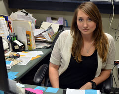 Ducks Unlimited fundraising manager Alicia Zurba has been busy organizing the Bluebills 2012 banquet, which takes place at the Canad Inns Roadhouse on Thursday.