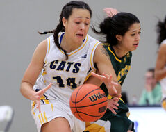 Brandon Bobcats' Cassie Cooke leads the country in scoring.