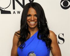FILE - This June 10, 2012 file photo shows Audra McDonald backstage with her award for best actress in a musical for her role in