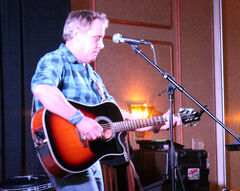 Charlie Major takes to the stage to perform some of his hits.