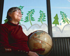 Now retired, Judy Bartel worked as a student advisor and student services director at Assiniboine Community College for 25 years. She was on the board of The Marquis Project and, a few years ago, became that organization's executive director. But even before her time at Marquis, she was interested in the world's different cultures, as well as exploring all the unique joys the planet — and its diverse inhabitants — had to offer. So it was only natural that she'd become involved with the Brandon and area chapter of The Friendship Force, an international organization that welcomes travelling tourists to Westman and other regions, and also facilitates visits by members to a variety of countries where they get to experience local cultures up close and personal.