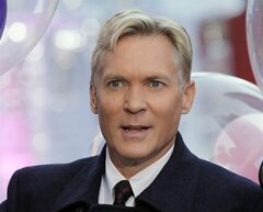 FILE - This Oct. 17, 2012, file photo, shows Sam Champion, the weather anchor of ABC's