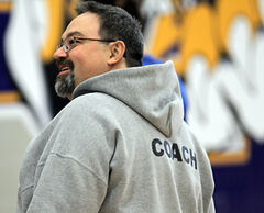 Brandon University's Bobcats head coach Lee Carter was chosen as the CIS women's volleyball coach of the year.