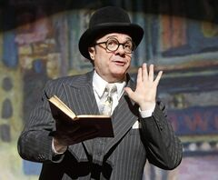 FILE - This undated theater publicity image originally released by Lincoln Center Theater shows Nathan Lane in