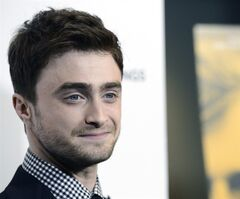 FILE - In this Oct. 2, 2013 file photo, actor Daniel Radcliffe arrives at the premiere of the feature film