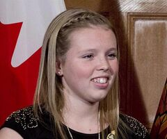 Annaleise Carr is pictured in Ottawa, on Oct.24, 2012. THE CANADIAN PRESS/Adrian Wyld