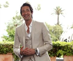 "In this photo taken Monday, May 19, 2014, actor Adrien Brody poses for a portrait for the film Emperor at a hotel during the 67th Cannes international film festival, Cannes, southern France, Monday, May 19, 2014. Brody has signed on to play Charles V in ""Emperor,"" a Lee Tamahori film that explores the reign of the Roman ruler. (Photo by Joel Ryan/Invision/AP)"