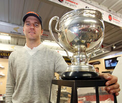 Former Calder Cup winner Brett Skinner will play in Europe.