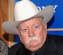 In this Monday, Dec. 14, 2009 photo, actor Wilford Brimley attends the premiere of