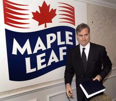 Michael McCain, president of Maple Leaf Foods, arrives for a media briefing in Laval, Que., on Dec. 12, 2008. Canada Bread has struck an agreement to be acquired by one of the world's largest bread companies in a transaction valued at $1.83 billion.Grupo Bimbo, based in Mexico, said Wednesday it will buy Canada's dominant breadmaker with the support of Maple Leaf Foods, which owns a 90 per cent stake in the operations THE CANADIAN PRESS/Ryan Remiorz
