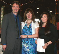 Stephen and Trina Hayter and Michelle Frechette.