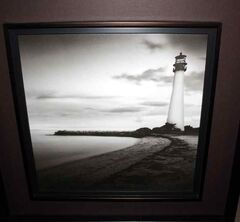 Chris Parlow would like to show his gratitude for this picture of a lighthouse that Brandon's Michelle and Wade Ritchie sent to him recently.